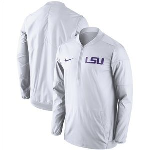 Sideline Lockdown Quarter-zip Jacket - White